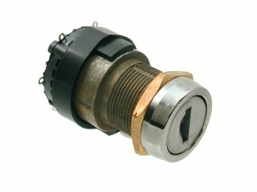 5 Disc Rotary Action Key Switch 2900